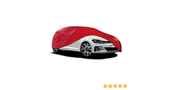 PREMIUM INDOOR BREATHABLE DUST PROOF RED FULL CAR COVER 130 GSM SOFT GARAGE SHOWROOM Rhinos-Autostyling FITS PORSCHE 911 TURBO