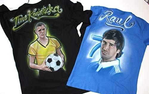 Individuelles Airbrush T-Shirt mit eurem Wunschmotiv -