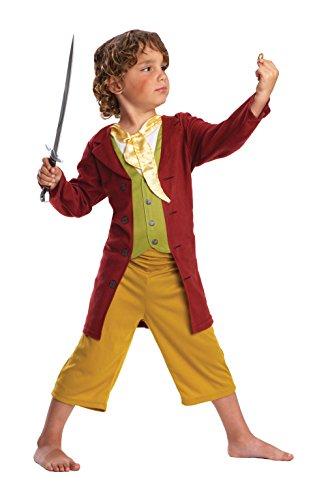 Hobbit Kostüm Beutlin Kind Bilbo - Rubie's 886882 The Hobbit Bilbo Baggins Kostüm Set, Größe M