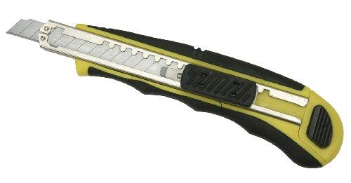 Cogex 60569 Cutter 9 mm bi matière a chargement automatique + 3 lames