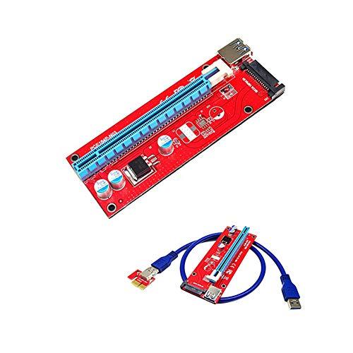 Dandeliondeme 12 pcs USB3.0 PCI-E Express 1 x vers 16 x Extender Carte Riser câble Adaptateur pour Minière BTC LTC ETH