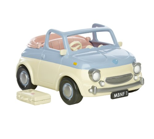 Tatty Teddy and My Blue Nose Friends - Little Blue Motor Car - La Petite Voiture Bleu (Import UK)