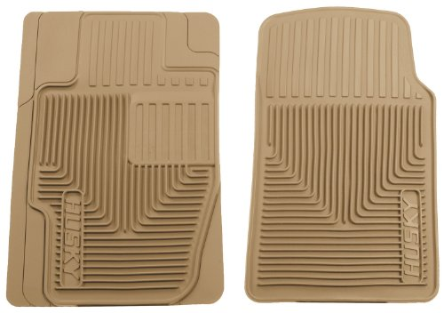 husky-liners-51113-semi-custom-fit-heavy-duty-rubber-front-floor-mat-tan-by-husky-liners
