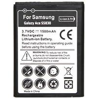 Samsung Galaxy Ace S5830 High Capacity Battery - EXTRA LONG LIFE 1500mAh