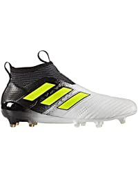 superior quality 41726 82ffc ... closeout adidas ace 17 purecontrol fg cleat mens soccer 9 running white  electricity black 56399 619ea