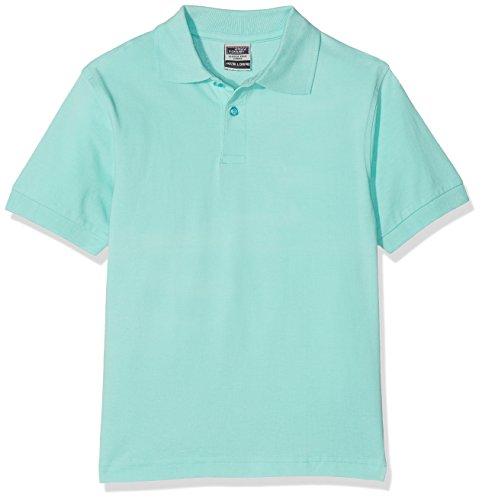 James & Nicholson Jungen Poloshirt Classic Polo Junior, Gr. X-Small (Herstellergröße: XS (98/104)), Grün (grün mint) (Kurzarm-shirt Junior)