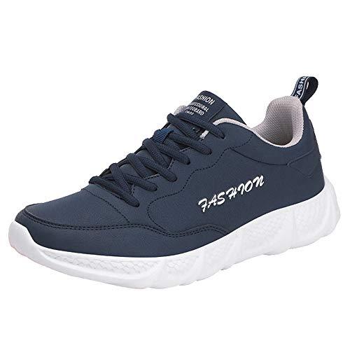 Herren Schuhe Sneaker Running Wanderschuhe Outdoorschuhe Männer Outdoor Leder Schuhe Casual Lace-Up Bequeme Sohlen Laufschuhe Sportschuhe