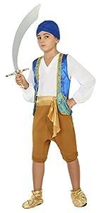 Atosa- Disfraz Árabe, 10 a 12 años (22527)