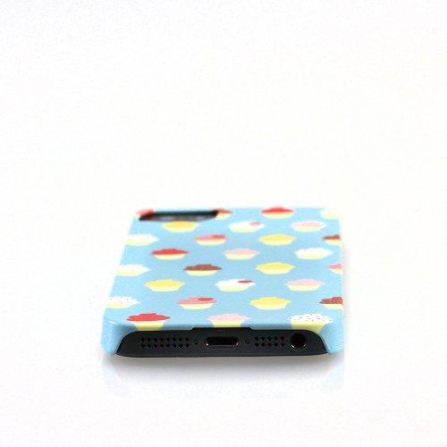 MediaDevil Grafikcase Apple iPhone 5 / 5S Hülle: Ultra Slim Edition - Blue Galaxy (Glänzend) Cupcakes