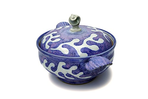casserole-dish-blue-sea-design-hand-thrown-stoneware-cookware