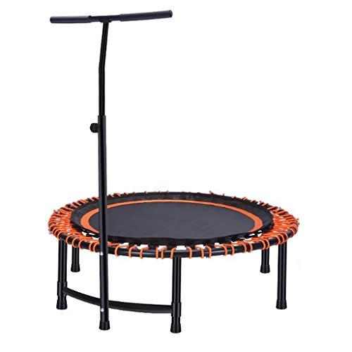 Rebounder-Trampolin for Erwachsene, Quiet and Safe Bounce for Erwachsene, Heimaerobic oO (Color : Orange)