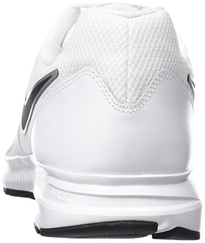 Nike Downshifter 6, Chaussures de Running Entrainement Homme Blanc (White/Black Metallic Silver)