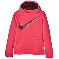 Nike G Nk Po Therma GX Sweater Mädchen, grau (Carbon Heather