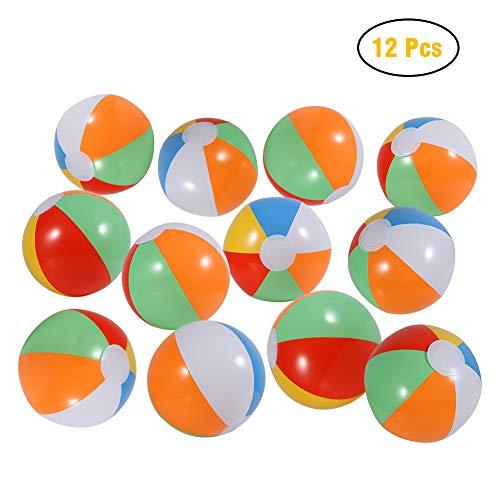 Twister.CK Bolas de Playa de 12 Paquetes, 8