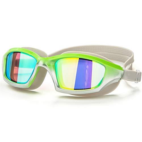 b19d190a7287 GXAO Swimming Goggles Occhialini da Nuoto, Nessuna Perdita, Anti Nebbia,  Protezione UV,