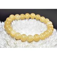 Bracelet Calcite 8 MM Birthstone Handmade Healing Power Crystal Beads. preisvergleich bei billige-tabletten.eu