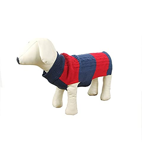 Pet Dog Cat warmes Fell Hund Pullover Kleidung Hund Puppy Pet Strickpullover Pullover Strickwaren Mantel Hoodie, Hund Outfits Herbst Winter Kleidung Sweatshirt Kostüme