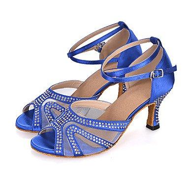 Chaussures De Danse-womens-belly Dancing / Danse Latino-américaine / Jazz / Moderne / Samba / Swing Shoes-black Heel