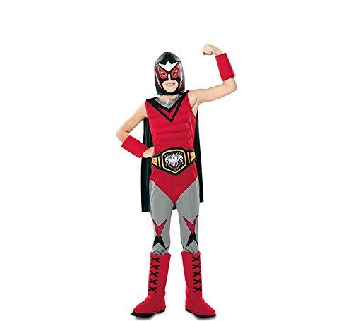Disfraz de Campeón de Lucha Libre para niño