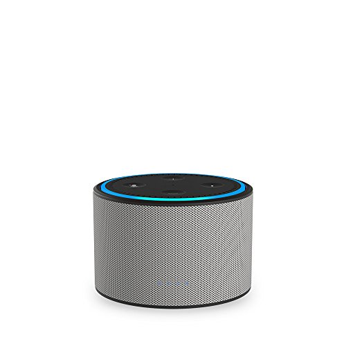 DOX Portable Battery Base for Amazon Echo Dot (White)