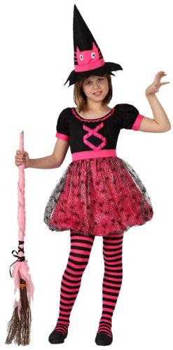 Imagen de atosa  disfraz de bruja para niña, talla 9 años 8422259149804