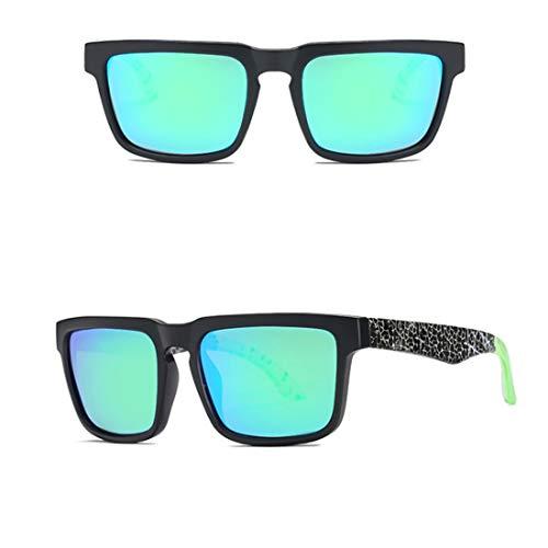 Yiph-Sunglass Sonnenbrillen Mode Fahren Angeln Golf Brille UV400 polarisierte Sonnenbrille für (Farbe : 02)