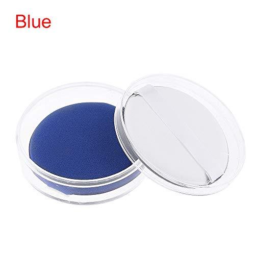 2Pcs neue schönheit stiftung concealer luftkissen, puderquaste bb/cc - creme kosmetische mittel make - up - schwamm(blue)