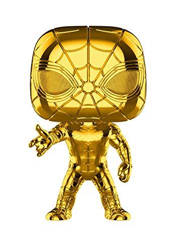 Funko 38482 POP Bobble Marvel Studios 10: Iron Spider (Chrome) Sammelbares Spielzeug, Mehrfarben