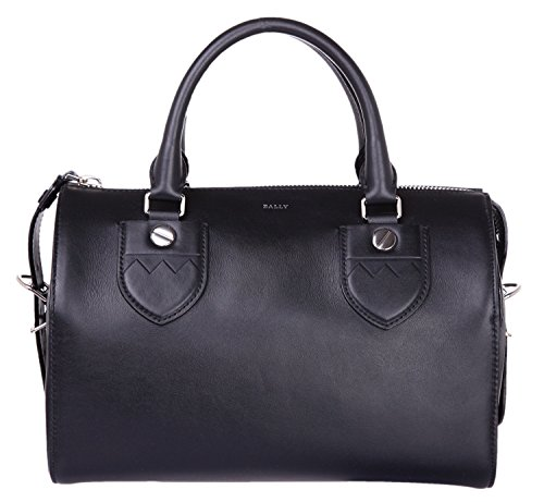 bally-bloom-medium-6190992-damen-bowling-bag-bowlingtaschen-black-30cmx18cmx15cm