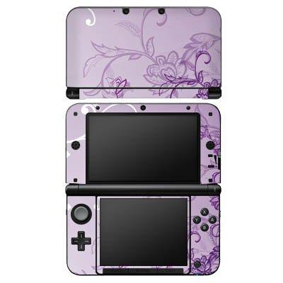 DeinDesign Nintendo 3 DS XL Case Skin Sticker aus Vinyl-Folie Aufkleber Ranken Blumen Muster