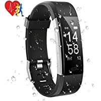 Aoeatop Fitness Tracker Watch, GPS Activity Tracker with Heart Rate Monitor Sleep Monitor Pedometer Calorie, 14 Sport Modes, IP67 Waterproof Fitness Tracker for Men Women and Kids