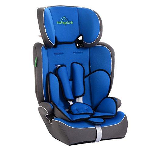Preisvergleich Produktbild Autokindersitz Kinderautositz Sicherheitssitz Autositz Kindersitz Kinder Sitz Babysicherheit Kindersitz Farbewahl 9-36kg Gruppe I, II und III (Blau)
