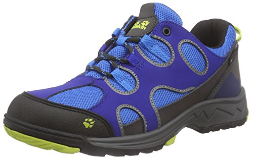 Jack Wolfskin Crosswind Texapore Low-Top Trekking & Wanderhalbschuhe Active Blue