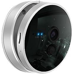 CTVMAN WiFi Mini IP Kamera HD 1080P 2,0 Megapixel ueberwachungskamera mit PIR Alarm Zwei-Wege-Audio SD Karte Slot Wireless Videoüberwachung Onvif P2P Netzwerkkamera