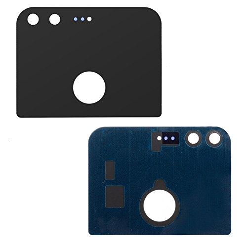 BisLinks® Schwarz Rear Glas Panel mit Adhesive Ersatz Teil für Google Pixel G-2PW4200 -