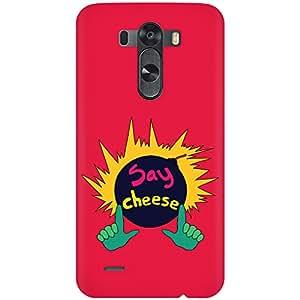 URBAN KOLOURS Original Designer Printed Hard Case Back Cover for LG G3 (Say Cheese)