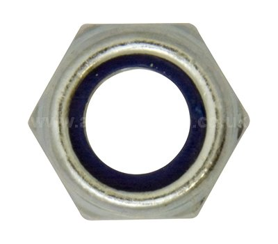 Nylon Lock Nuts M14 Size M14 Pack of 50 Nuts