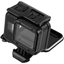 tenlacum impermeable buceo bajo el agua carcasa protectora caso de vivienda para GoPro Hero Cámaras 6, 5(buceo shell-black)