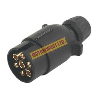 Maypole MP021 N-Type 7-Pin Trailer Board Plug 12V