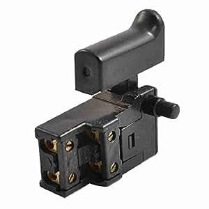 ac 250v 6a spst sperren sie auf trigger schalter f r die elektrische hammer baumarkt. Black Bedroom Furniture Sets. Home Design Ideas