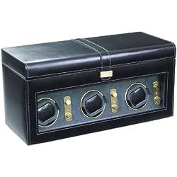 Dulwich Designs Heritage Black Triple Watch Rotator