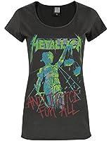 Damen - Amplified Clothing - Metallica - T-Shirt