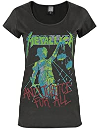 Damen - Amplified Clothing - Metallica - T-Shirt