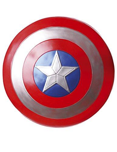Generique - Captain America Schild Kostümzubehör rot-blau-Weiss