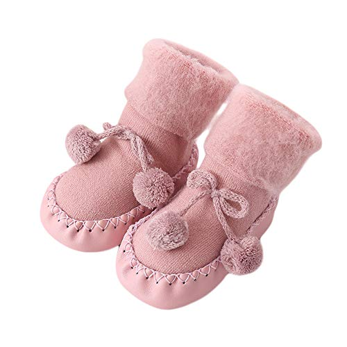 Chelsea Baby-krippe (Unisex-Baby Socken Hüttenschuh Baby schönen Herbst Winter warme weiche Sohle Schneeschuhe weiche Krippe Schuhkleinkind Stiefel 0-24 Monat auf)