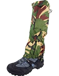 Highlander Mens Adjustable Elasticated Military Gaiters