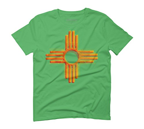 zia Men's Graphic T-Shirt - Design By Humans Green