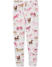 Hatley Tween Heart & Horses Lounge Pants, Pantalones De Pijama para Niños