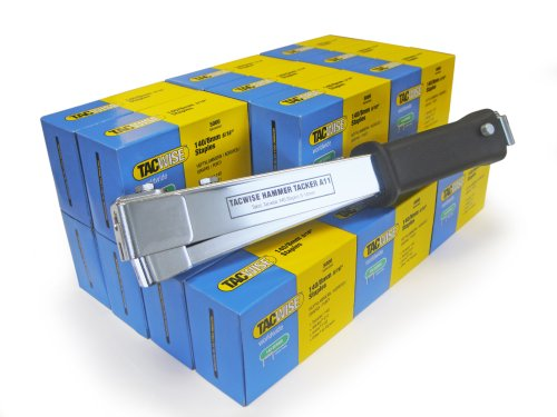 Tacwise A11 - Grapadora martillo grapas 140 mas 15