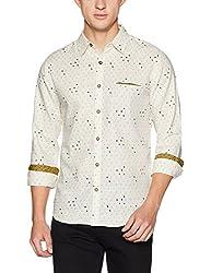 United Colors of Benetton Mens Casual Shirt (8903975458406_17A5DD34U008I901EL_Beige)